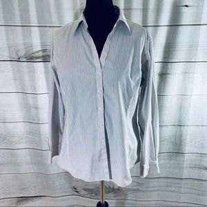 Brooks Brothers Long Sleeve Button Down (Size 14W)